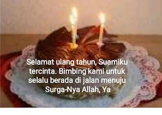 ucapan ulang tahun untuk suami