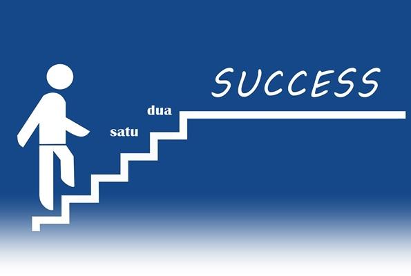 mencapai kesuksesan