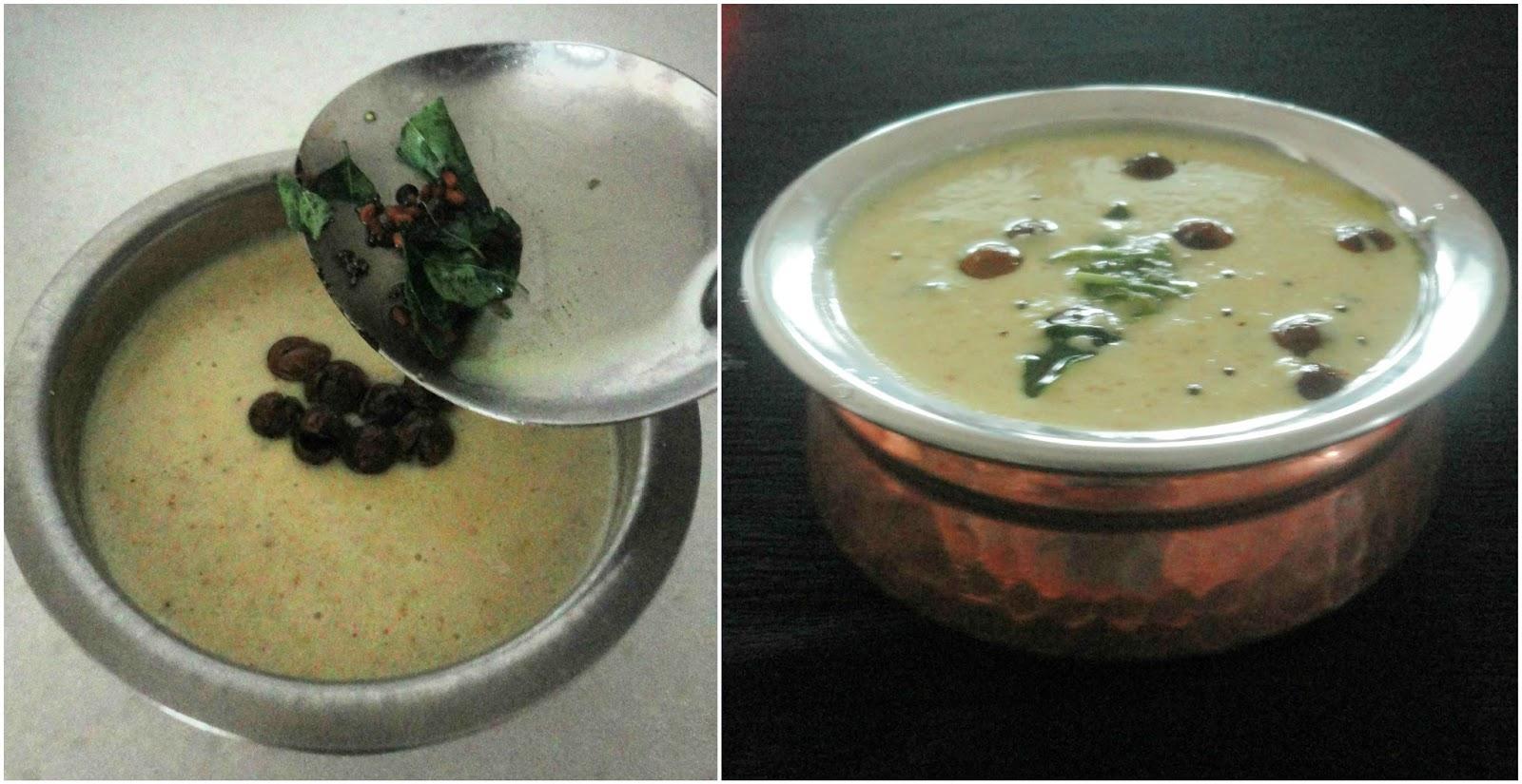 Situ's Cuisine: Mor kuzhambu - Buttermilk sambhar
