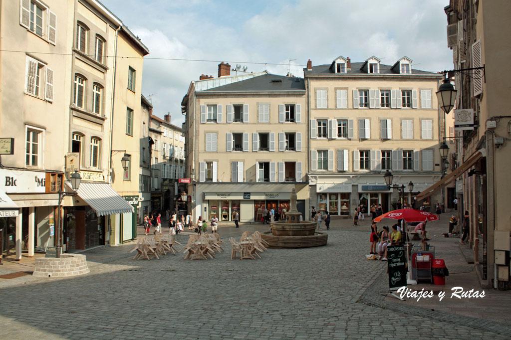 Plaza de san Miguel de Limoges
