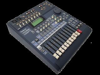 Обновление прошивки на цифровом микшерном пульте Roland VM-3100