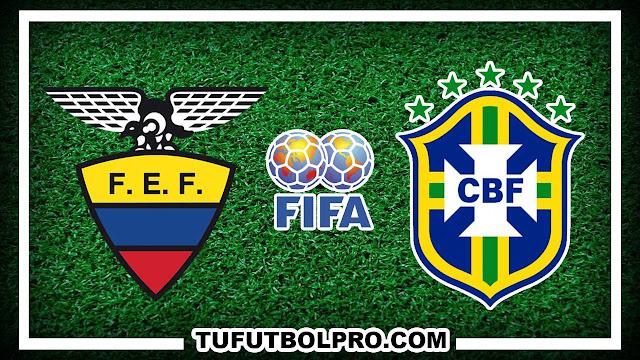 Ver Ecuador vs Brasil EN VIVO Por Internet Hoy 1 Septiembre 2016