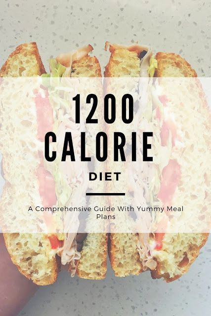 1200 Calorie Diet - A Comprehensive Guide With Yummy Meal Plans