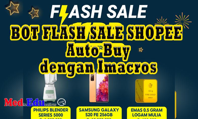 Bot Flash Sale Shopee Auto Buy Mededu