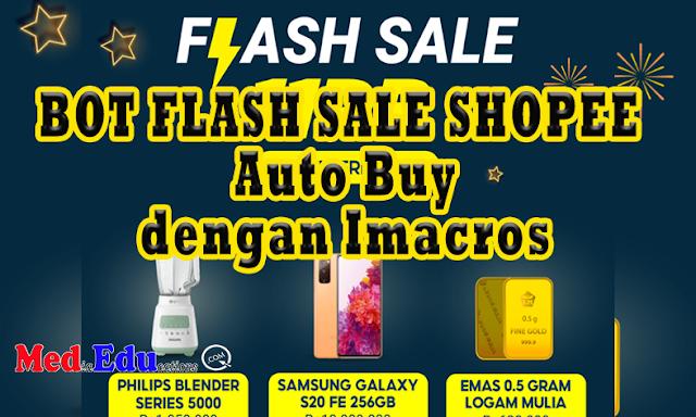 BOT flash sale shopee