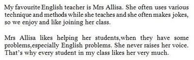 Soal Descriptive Text Bahasa Inggris Kelas VII