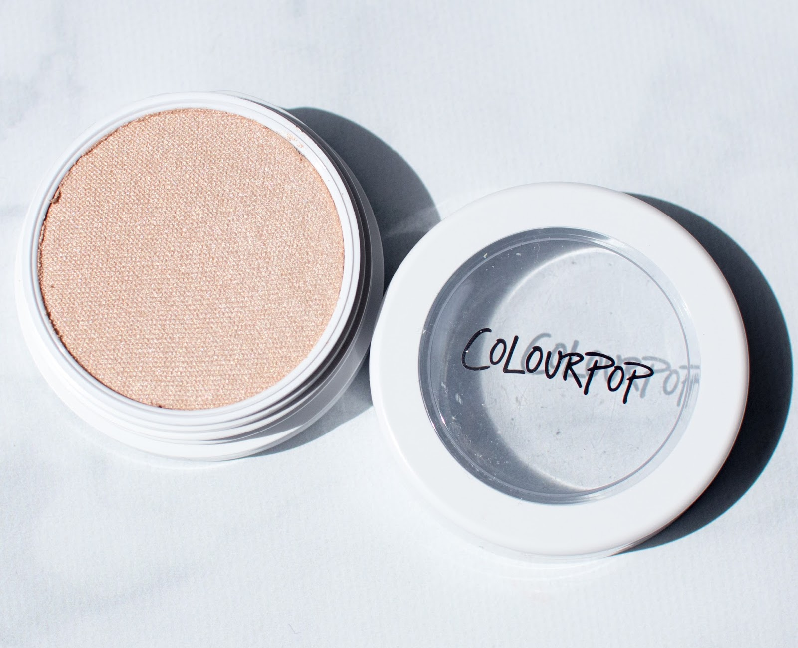 7c606735cc7 Colourpop Super Shock Highlighter in Lunch Money: Review and Swatches