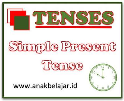 penggunaan tenses simple present tense dan contohnya