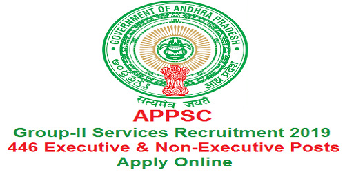 APPSC Group-II Services Recruitment 2019