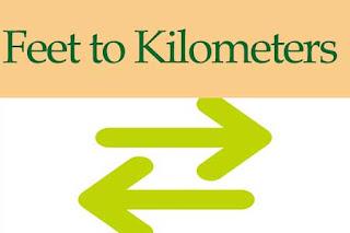 Feet to Kilometers