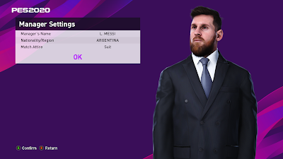 PES 2020 ML Manager Pack by Derek