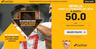 betfair supercuota europa league Sevilla gana a Standard de Lieja 29 noviembre