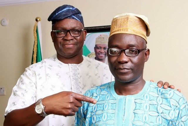 Politics Today: 'I Declare You The Next Ekiti Governor' – The Moment Fayose Prayed For His Deputy (Video)