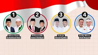 Hasil Resmi Pilgub Jabar dan Pilwalkot Bandung Diumumkan 6 Juli 2018