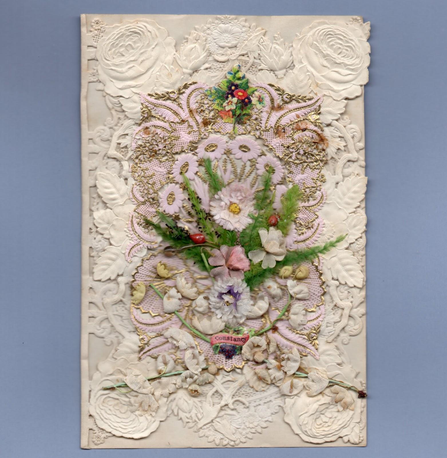 vintage valentine museum victorian romantic paper lace