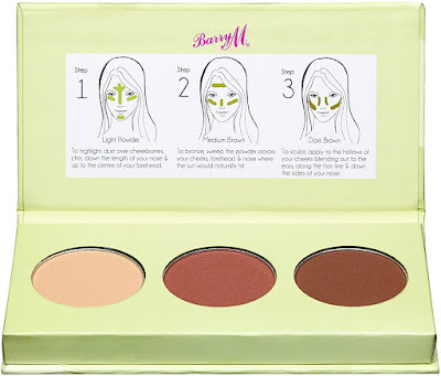 Barry M Cosmetics Kit contouring