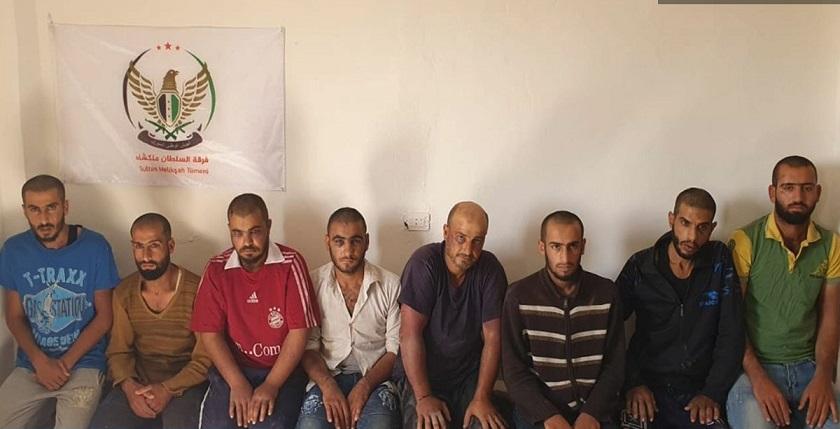 بعد إعتقالهم، المجموعات المرتزقة في سري كانيه تتهم المتظاهرين السلميين بالإرهابيين!!