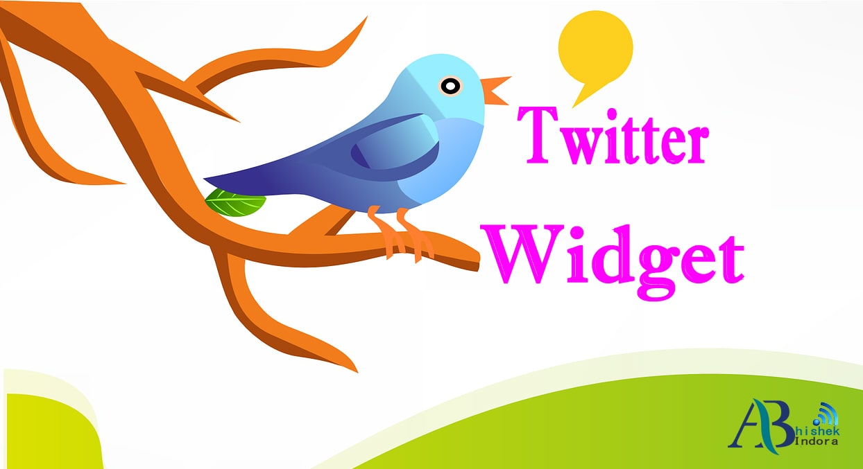 how to embbed twitter widget in blogger, how to embbed twitter widget, embbed twitter widget