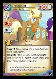 My Little Pony Trenderhoof, Locale Critic High Magic CCG Card