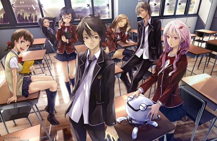 12 Rekomendasi Anime Mirip Guilty Crown