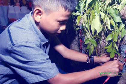 Nauval Raziq, Bocah Penemu Listrik dari Pohon Kedondong!