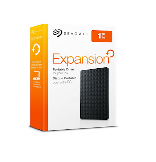 seagate expansion review - whats in the box?