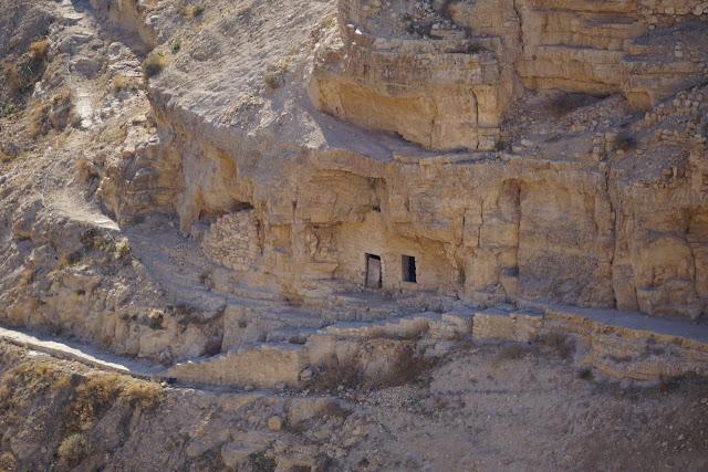 כוכים סמוך למנזר מרסבא