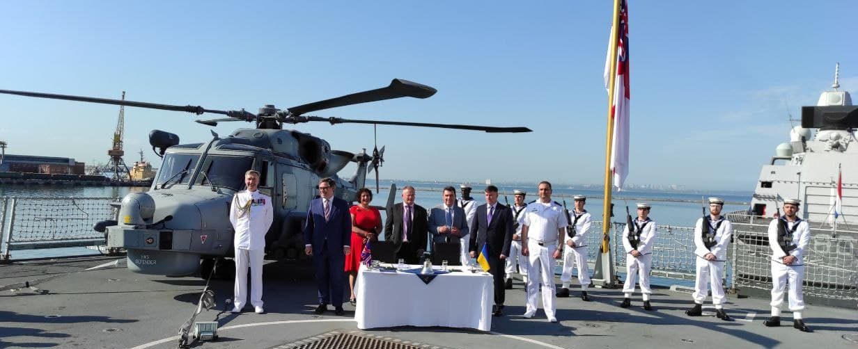 Babcock signs tripartite agreement to support enhancement of Ukrainian naval capabilities