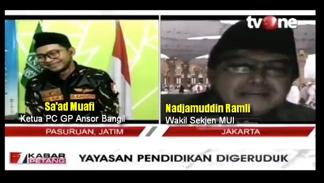 Banser Nyengir Kuda Diceramahi Wasekjen MUI: Anda Sok Kuasa! Jaga Adab Terhadap Ulama
