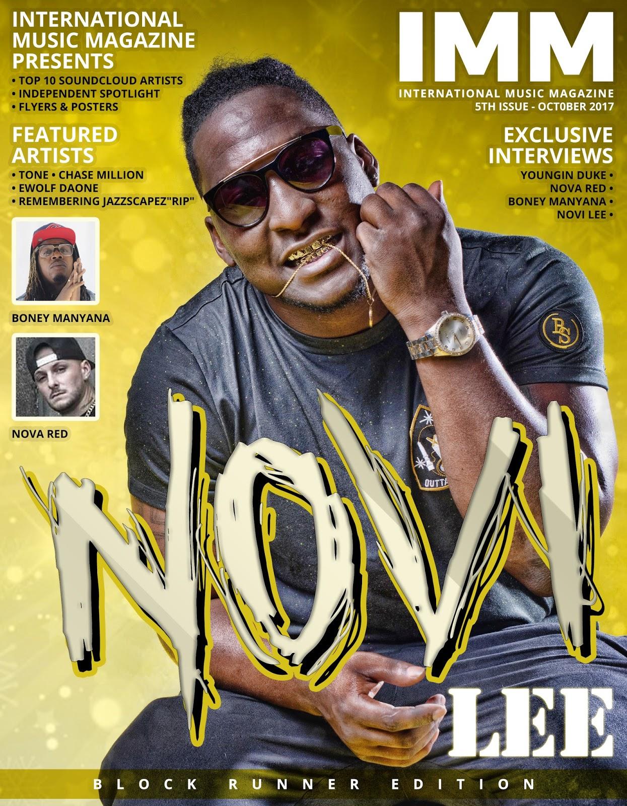 NOVI LEE | 5TH ISSUE