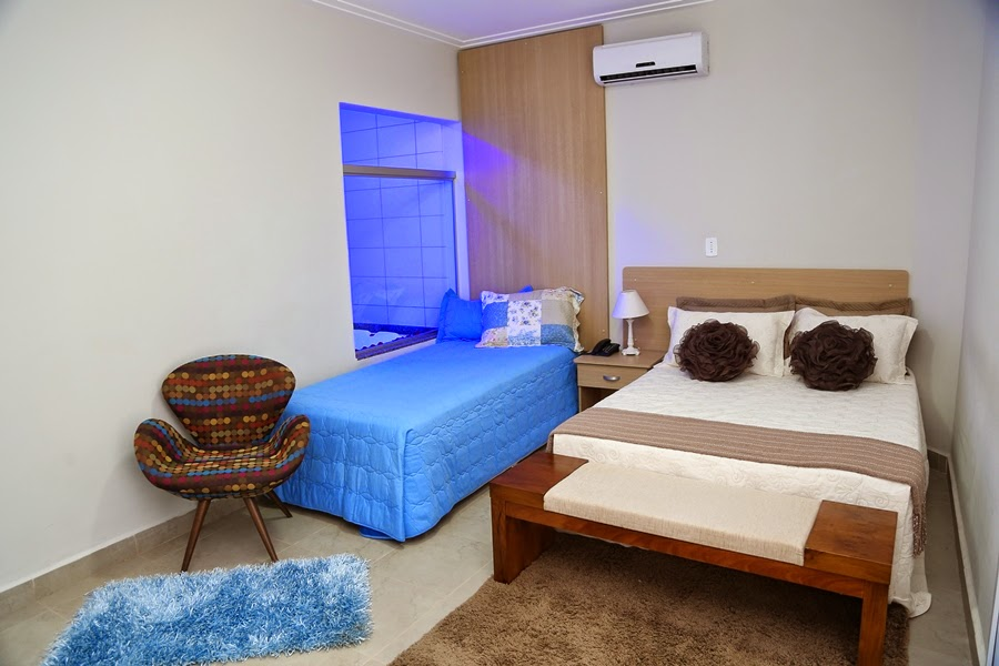 Quarto Gran Luxo Big Hotel Araguari