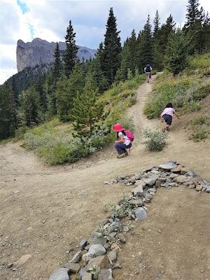 Mount Yamnuska Hiking Trail Marker