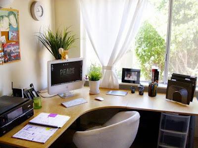 decoração escritório em casa