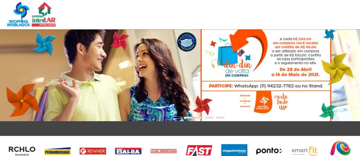Promoção Din Din de Volta Interlagos Shopping Dia das Mães