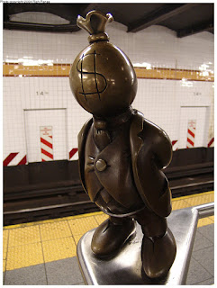 http://www.nycsubway.org/wiki/Artwork:_Life_Underground_%28Tom_Otterness%29