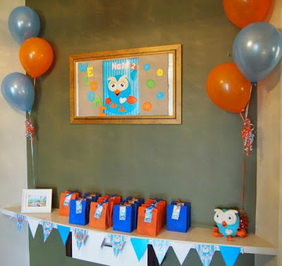 Giggle And Hoot Birthday Decorations