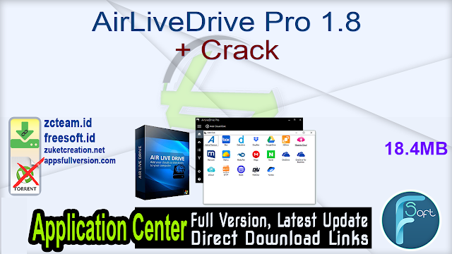 AirLiveDrive Pro 1.8 + Crack