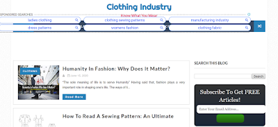 Top Listed Textile Blogs and Websites on the Web | Clothing Industry