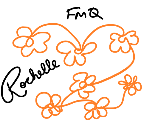 FMQ practice on a graphics tablet