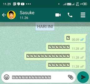 Cara Membuat Tanda Tanya Dalam Kotak Di Whatsapp