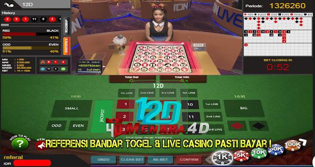 Panduan Bermain Permainan Live Game 12D