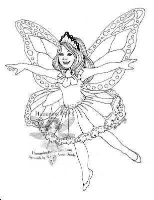 humming belles new illustrations and fairy paper doll outfits fit for a monarch butterfly. Black Bedroom Furniture Sets. Home Design Ideas