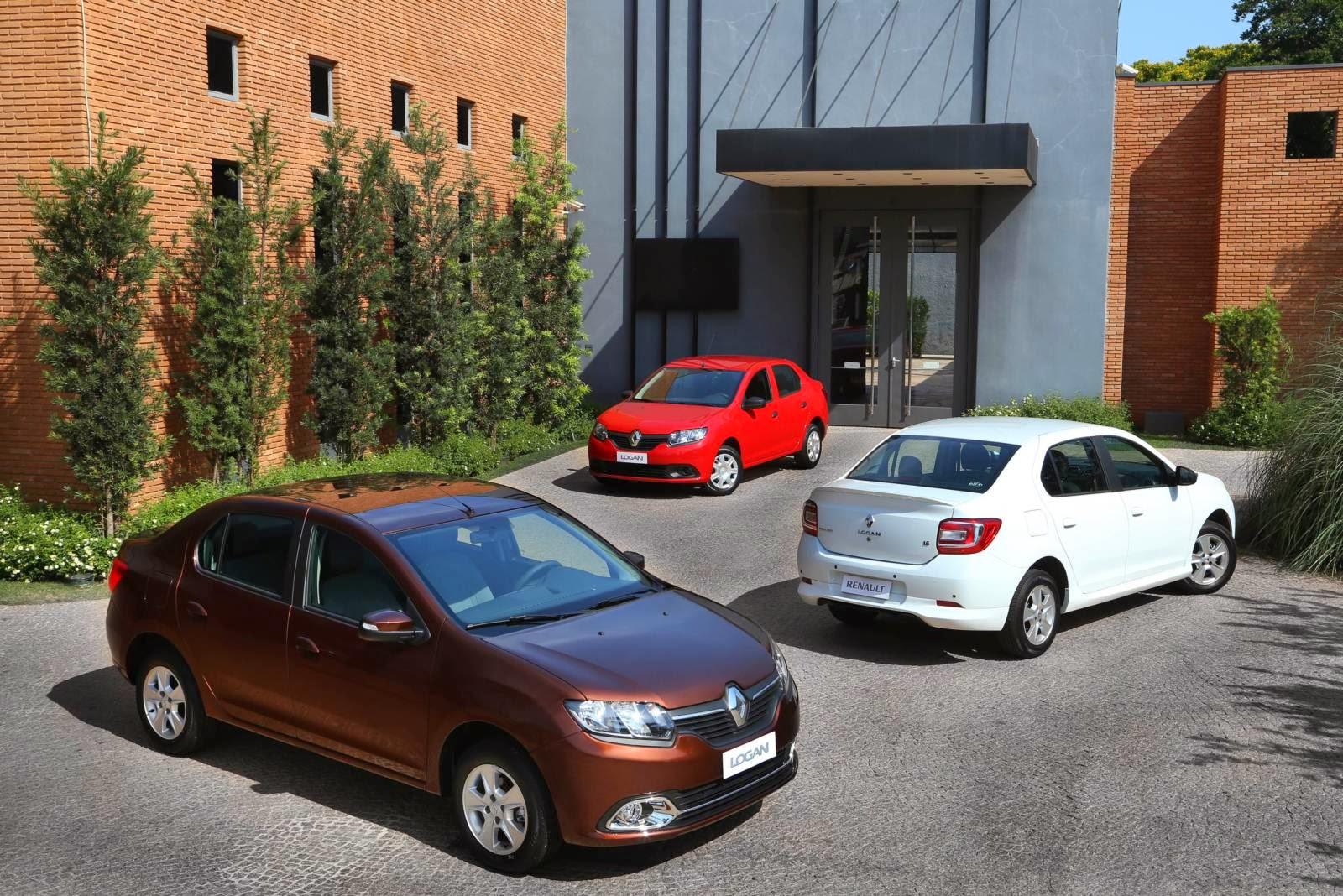 Novo Renault Logan 2014  Fotos  Consumo E Pre U00e7os