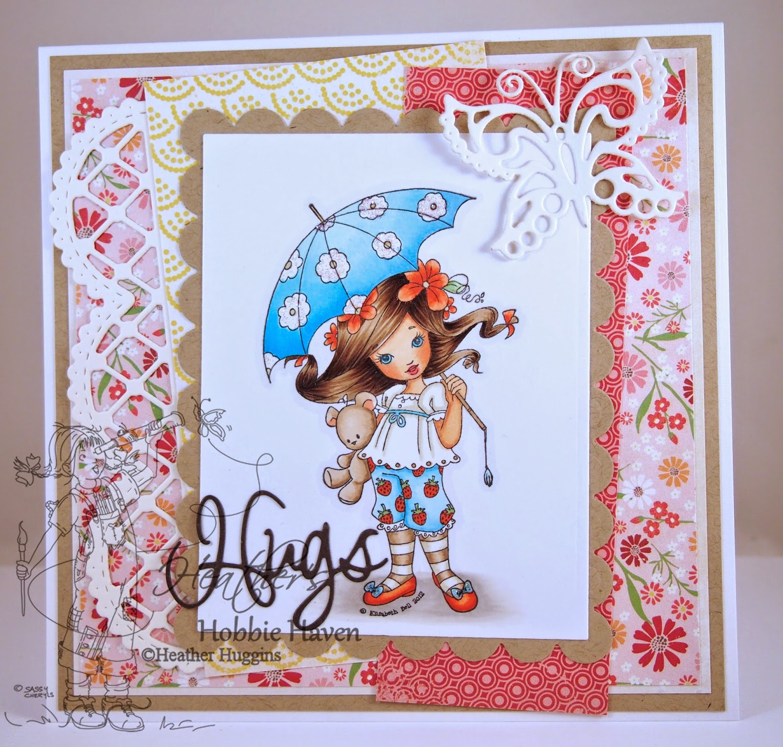 Heather's Hobbie Haven - Strawberry Dreamer Card Kit