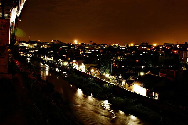 Jembatan Kali Code - Gondolayu - Destinasi Wisata Malam Yogyakarta