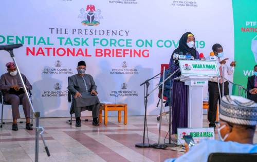 School feeding programme gulped over N500m during lockdown - Minister of humanitarian affairs, Sadiya Farouq claims