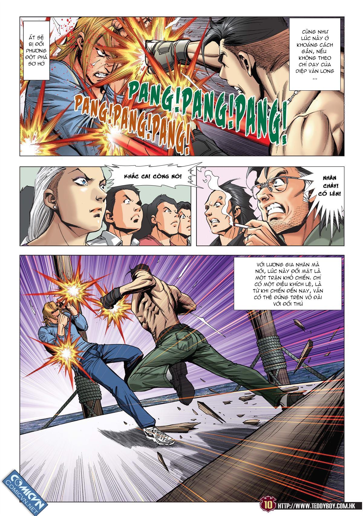 Người Trong Giang Hồ chapter 2137: tiền lộ nan hành trang 9