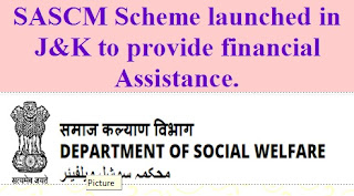 Special Assistance Scheme for Covid Mortalities (SASCM)