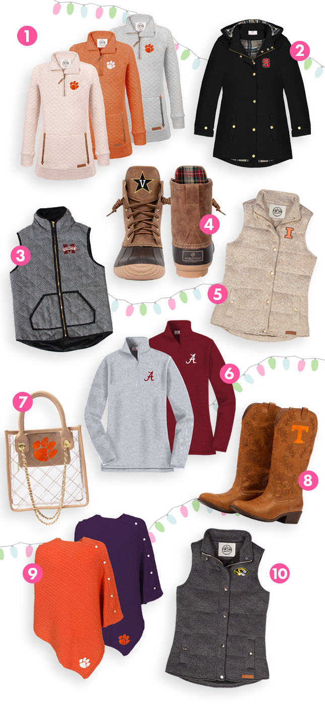 marleylilly collegiate clothing