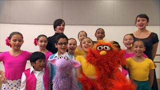 Murray Ovejita, Murray Has a Little Lamb, dance school, Sesame Street Episode 4404 Latino Festival season 44